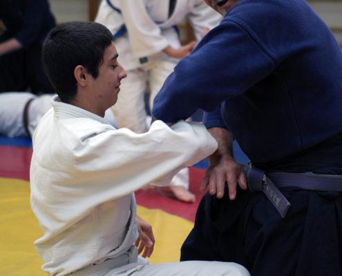 Гьяку мацуба дори - базовая техника джиу джитсу.