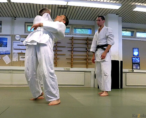 Отработка техники Такумакай