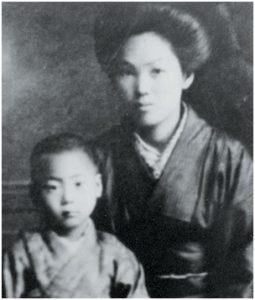 Такэда Токимунэ с матерью