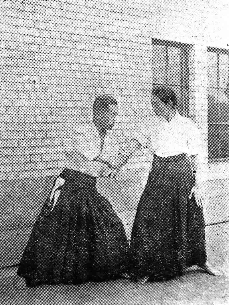 Хиса Такума самозащита для женщин
