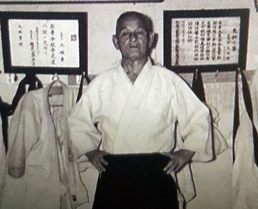 Хиса Такума 8 дан Айкидо