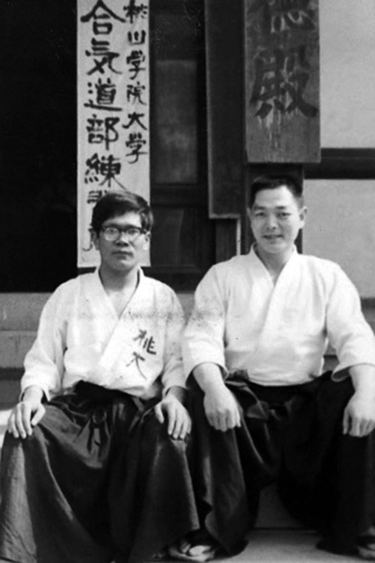 Кобаяси Киохиро и Кобаяси Хироказу Айкидо