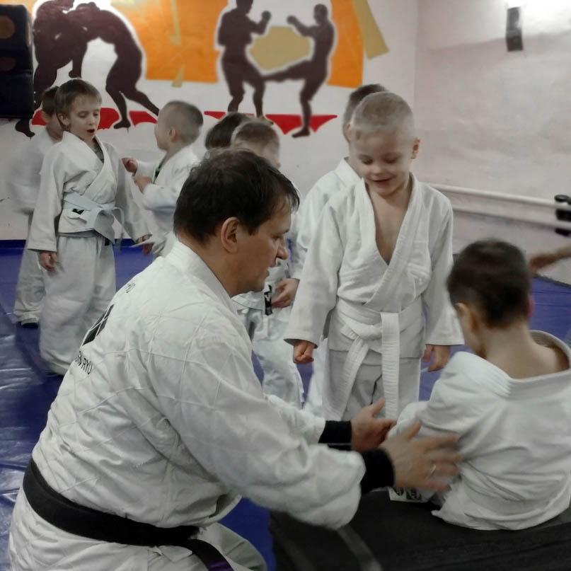 джиу-джитсу для детей