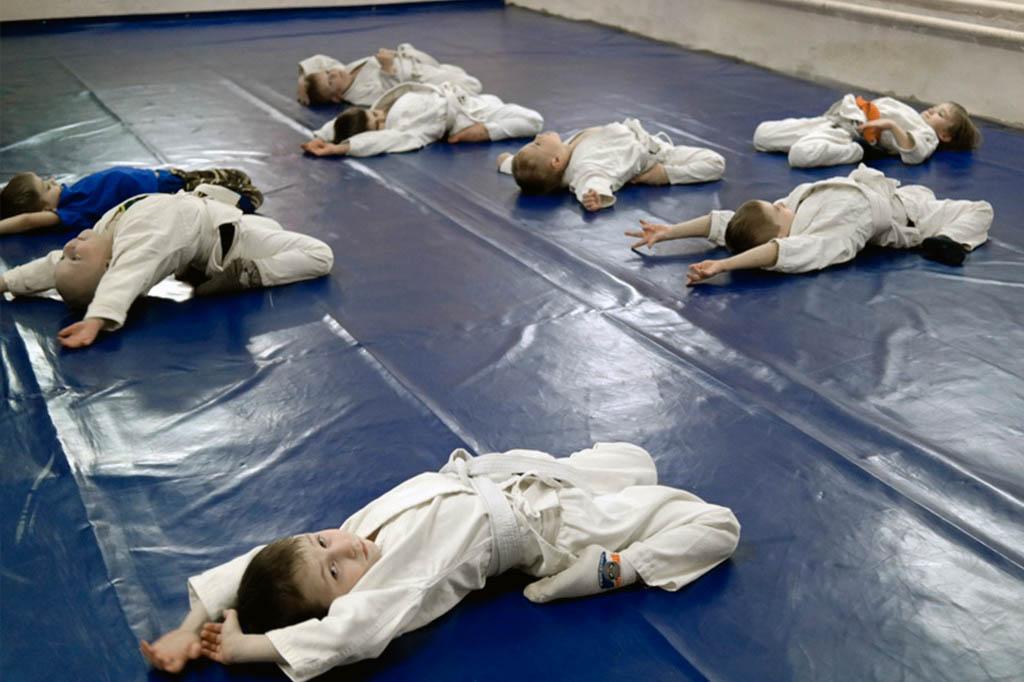 детская тренировка